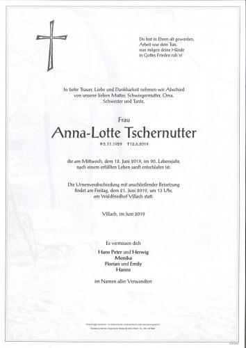 Anna-Lotte Tschernutter