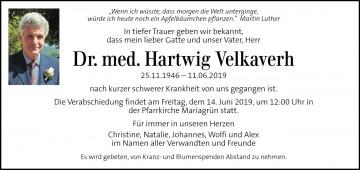 Dr. Hartwig Velkaverh