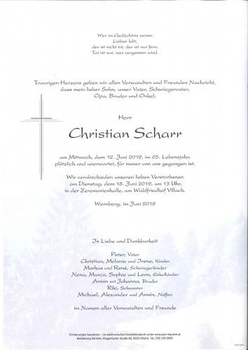 Christian Scharr