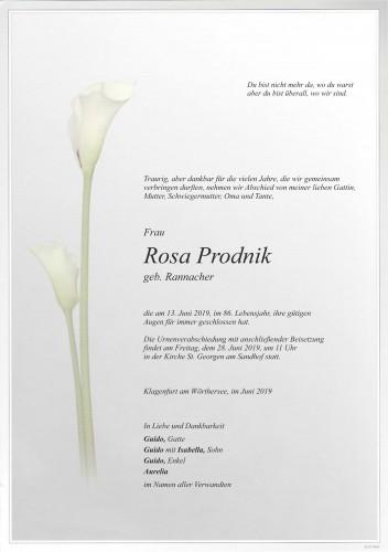Rosa Prodnik