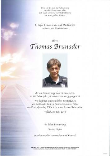 Thomas Brunader