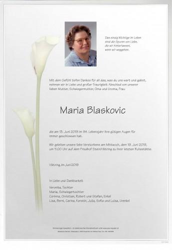 Maria Blaskovic