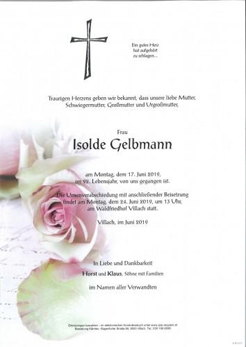 Isolde Gelbmann