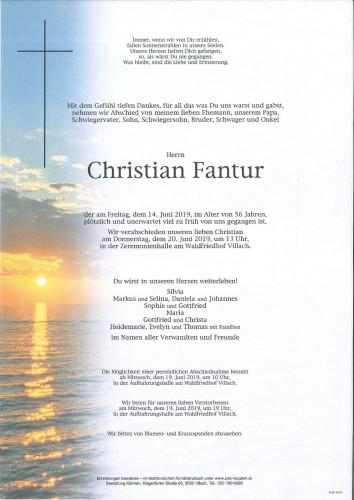 Christian Fantur