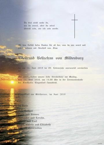 Edeltraud Bellschan von Mildenburg