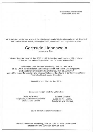 Gertrude Liebenwein