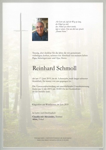 Reinhard Schmoll