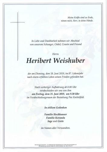 Heribert Weishuber
