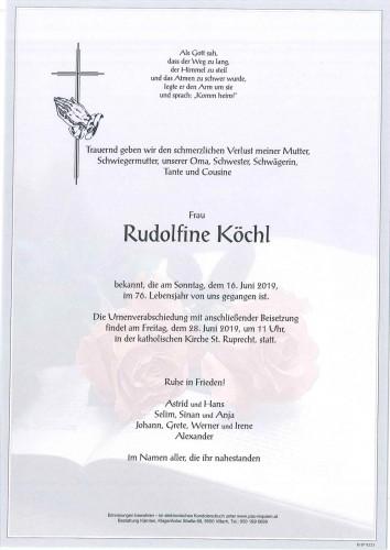 Rudolfine Köchl