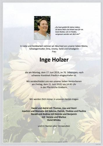 Ingeborg Holzer