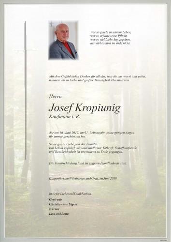 Josef Kropiunig