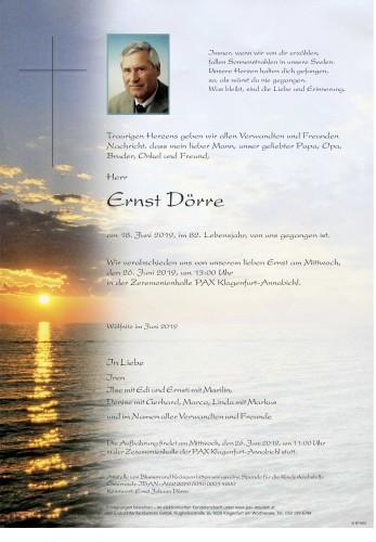 Ernst Dörre