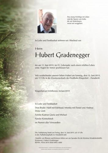 Hubert Gradenegger