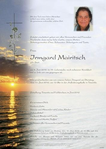 Irmgard Mairitsch