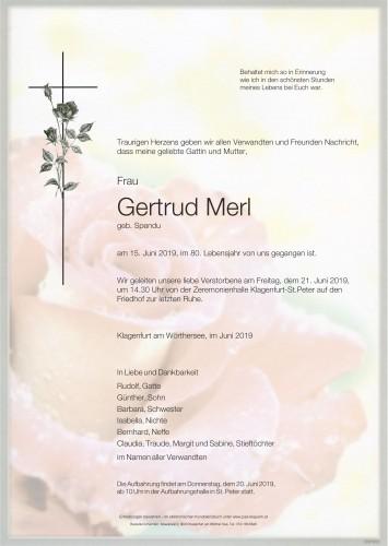 Gertrud Merl