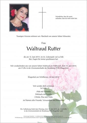 Waltraud Rutter