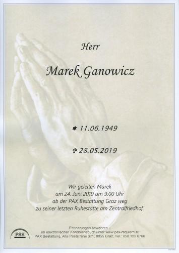 Marek Ganowicz