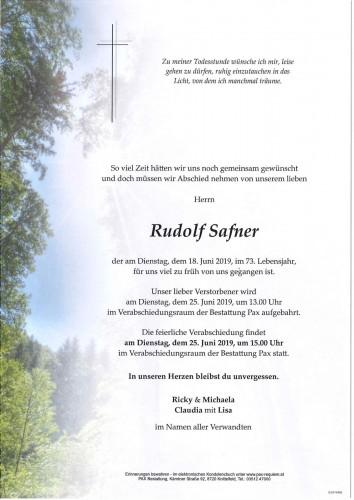 Rudolf Safner
