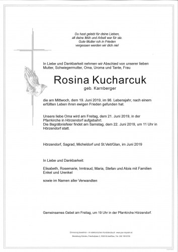 Rosina Kucharcuk