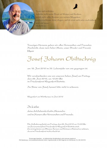 Josef Johann Obiltschnig