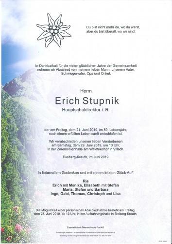 Erich Stupnik