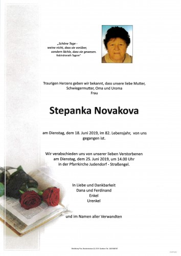 Stepanka Novakova