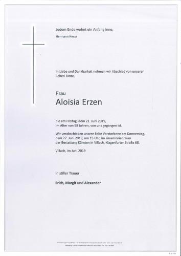 Aloisia Erzen