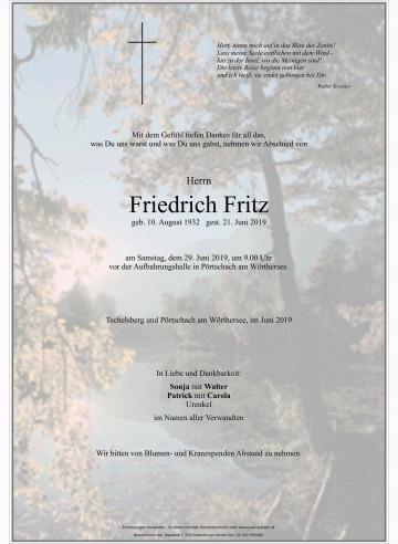 Friedrich Fritz