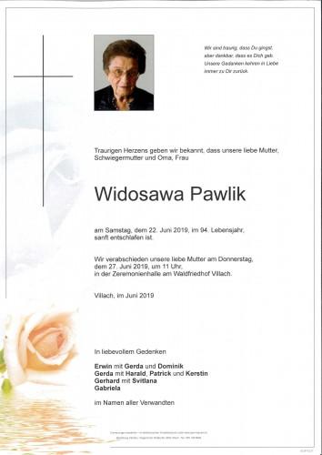 Widosawa Pawlik