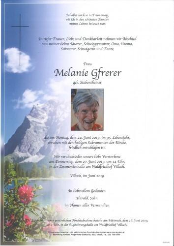 Melanie Gfrerer