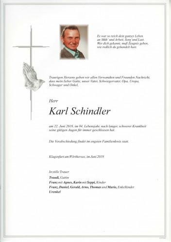 Karl Schindler