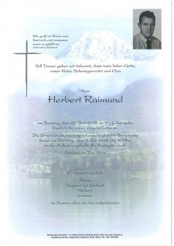 Herbert Raimund