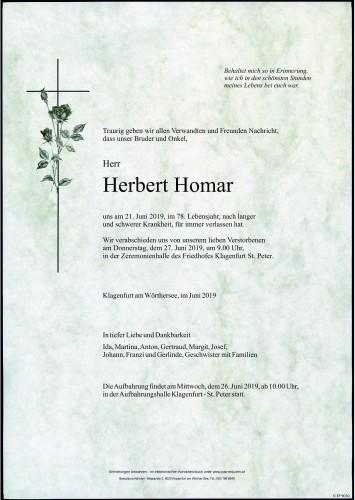 Herbert Homar