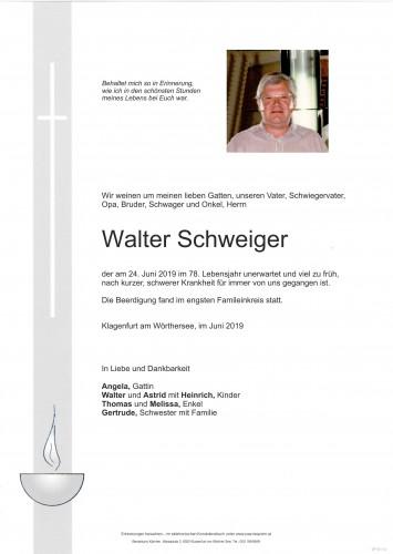 Walter Schweiger