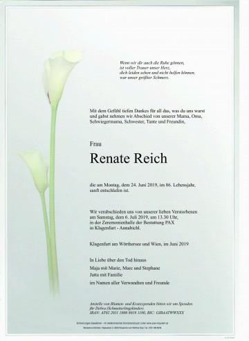 Renate Reich
