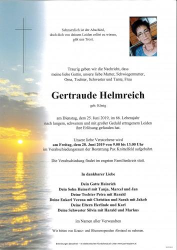 Gertraude Helmreich