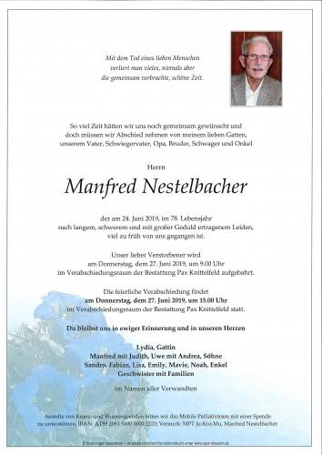 Manfred Nestelbacher