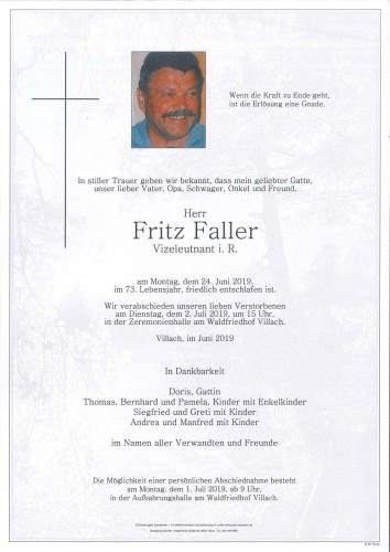 Fritz Faller