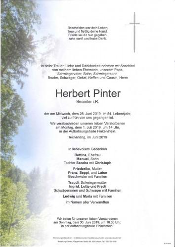 Herbert Pinter