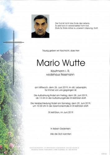 Mario Wutte