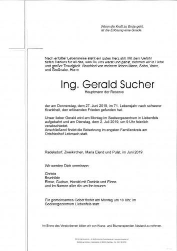 Gerald Sucher