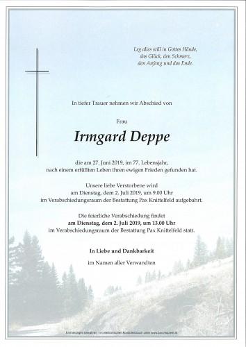 Irmgard Deppe