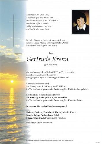 Gertrude Krenn