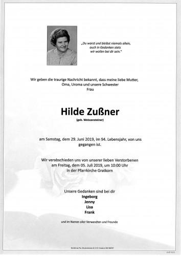 Hildegard Zußner
