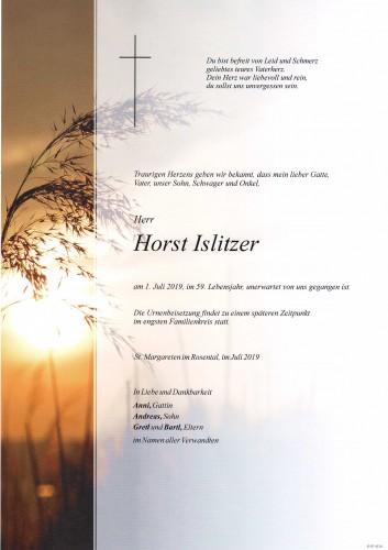 Horst Islitzer
