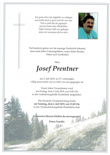 Josef Prentner