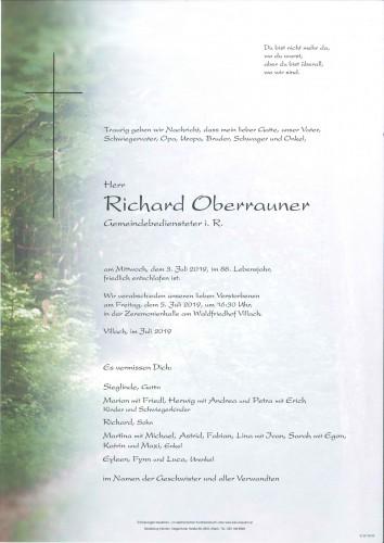 Richard Oberrauner
