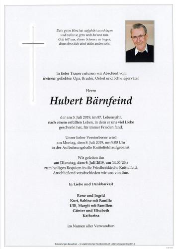 Hubert Bärnfeind