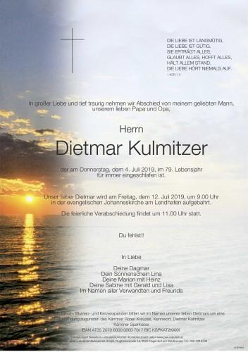 Dietmar Kulmitzer