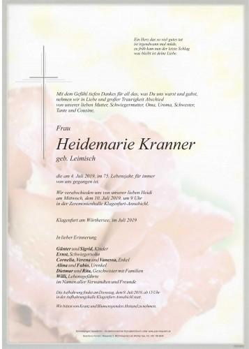 Heidemarie Kranner